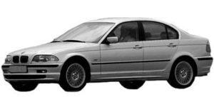 BMW 3 E46 4D 98>02
