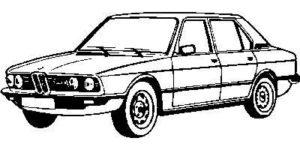 BMW 5 E12 -8/81
