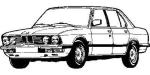 BMW 5 E28 8/81 > 4/88