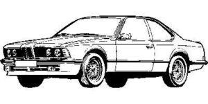 BMW 6 E24 76 > 89