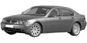 BMW 7 E65 11/01 > 10/08