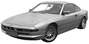 BMW 8 E31 04/90 > 99