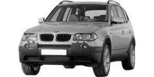 BMW X3 E83 01/04 > 10